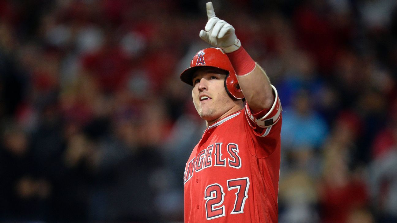 Mike Trout returns after missing 5 games with tight hamstring