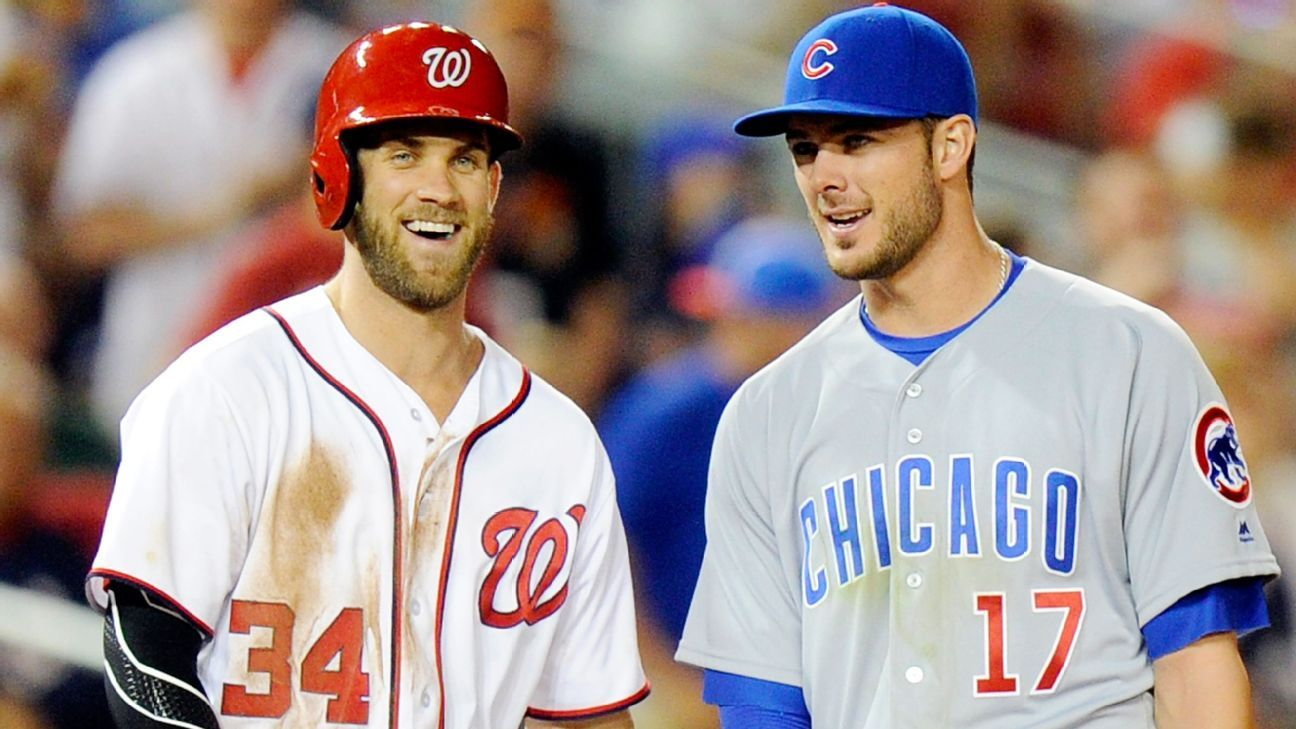 WASHINGTON -- Chicago Cubs third baseman Kris Bryant and Washington  Nationals outfielder Bryce Harper are working together to help the victims  of the Las ... 7fa7f84bf