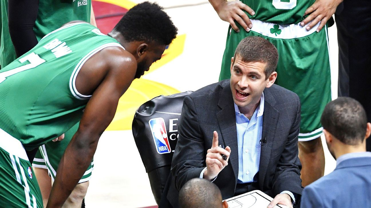 NBA Playoffs -- Welcome to Brad Stevens' after (timeout) party