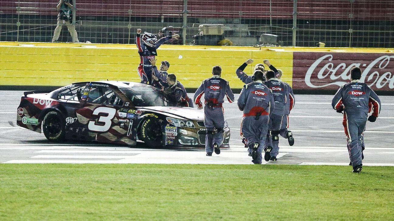 Race Recap: Austin Dillon puts the No. 3 Chevrolet back in Victory Lane on fuel-mileage gamble