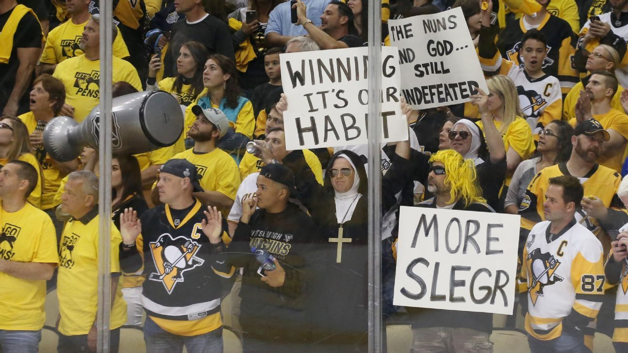 2017 Stanley Cup finals -- Penguins own Pittsburgh