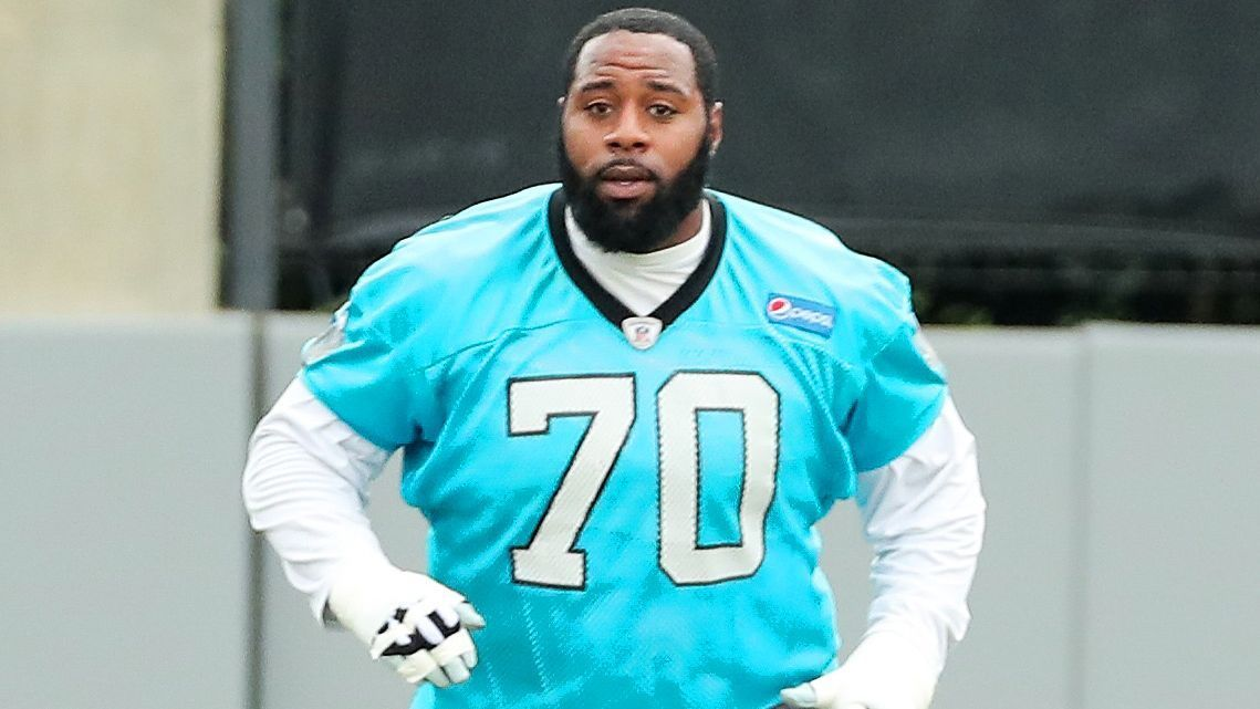 The Panthers' offensive line took another hit, as Pro Bowl guard Trai Turner is out against Atlanta because of a concussion suffered in the opener against Dallas.