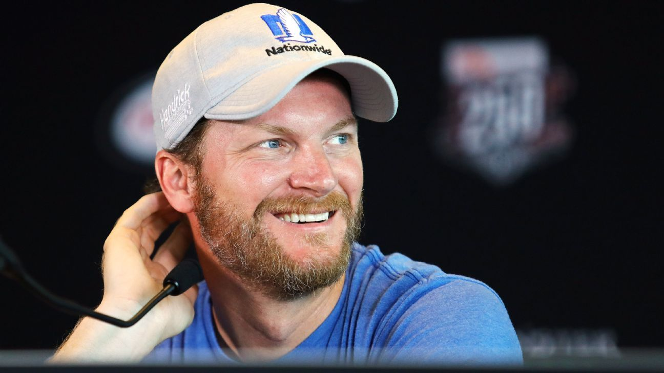A relaxed Dale Jr. finally soaking it all in