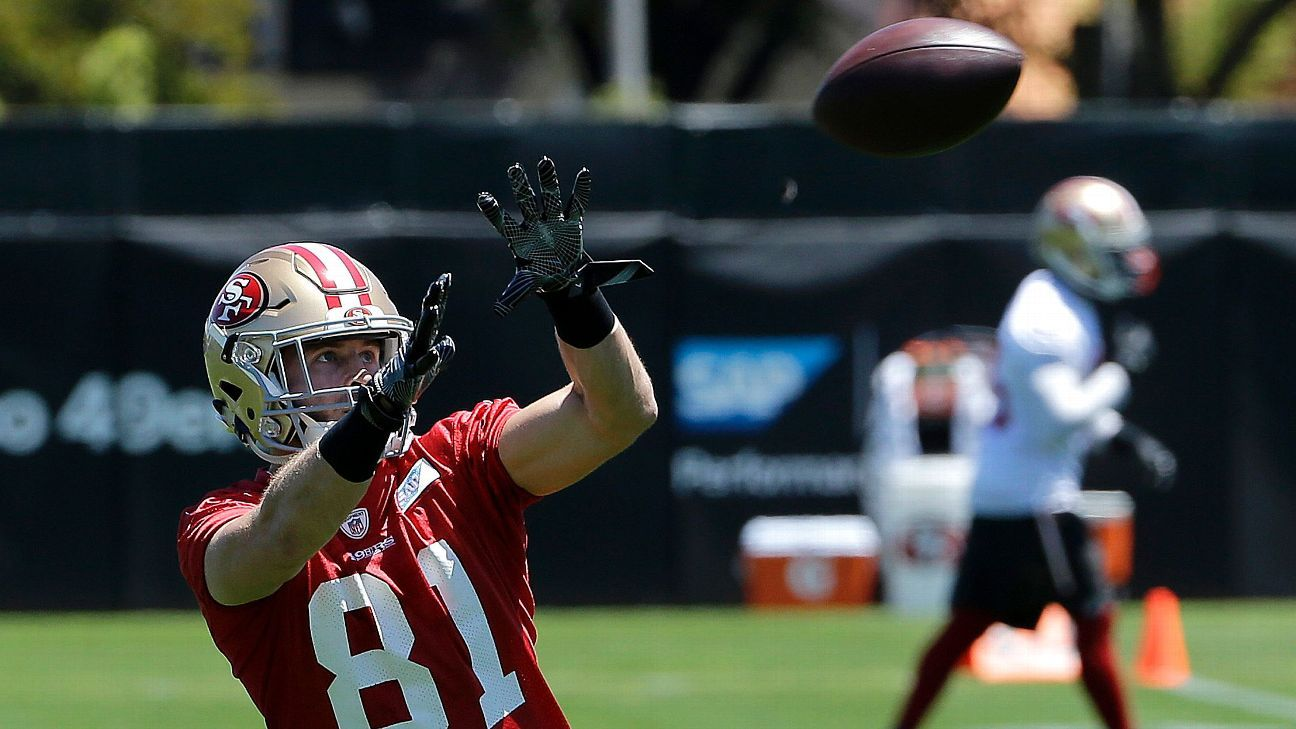 49ers Rookie Receiver Trent Taylor Making Strong First