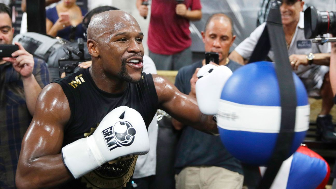 $880,000 bet in Floyd Mayweather-Conor McGregor fight largest so far on bout