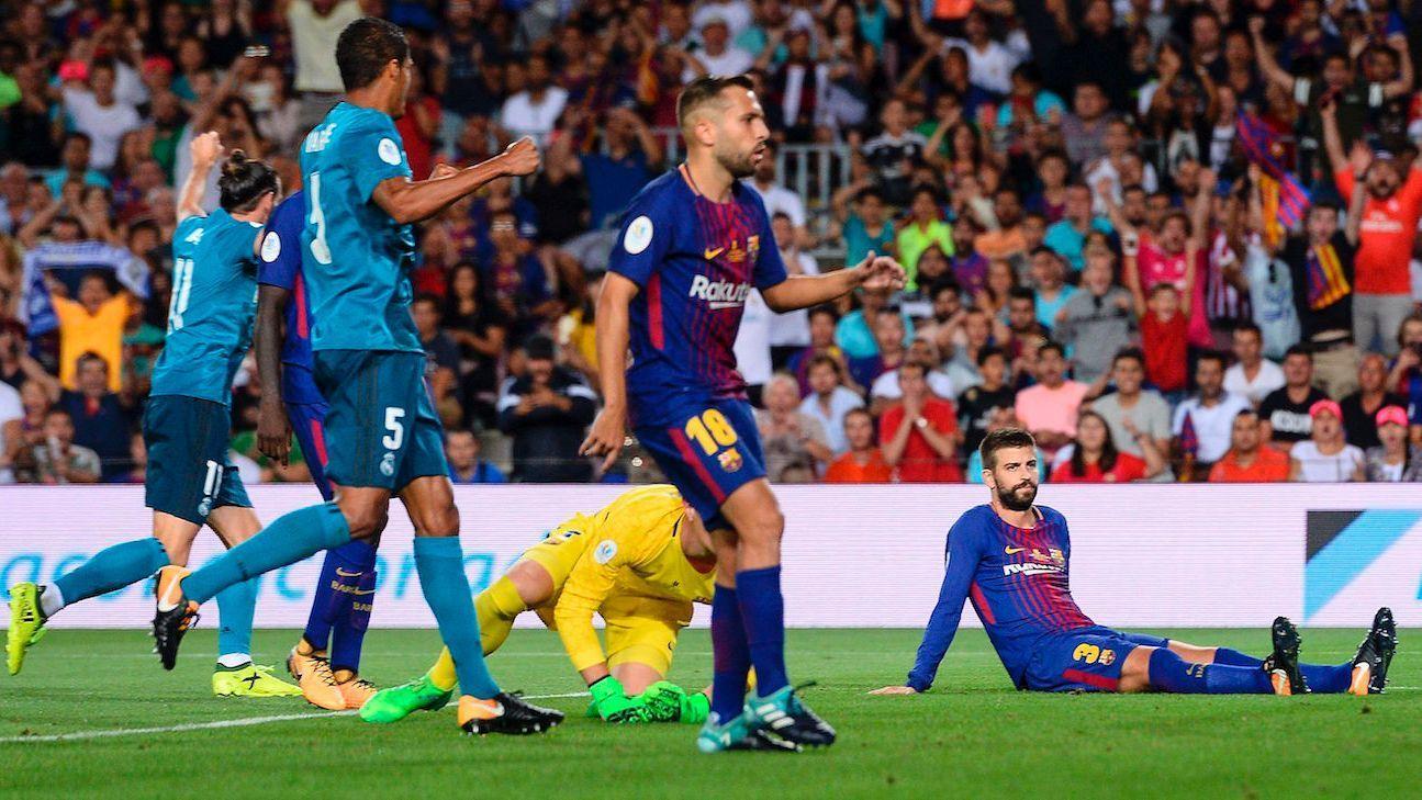 Barcelona vs real madrid resumen de juego 13 agosto for Juego de real madrid