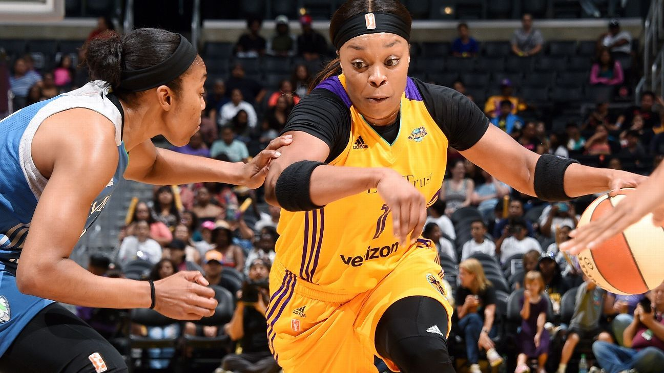 Los Angeles Sparks re-sign guard Odyssey Sims