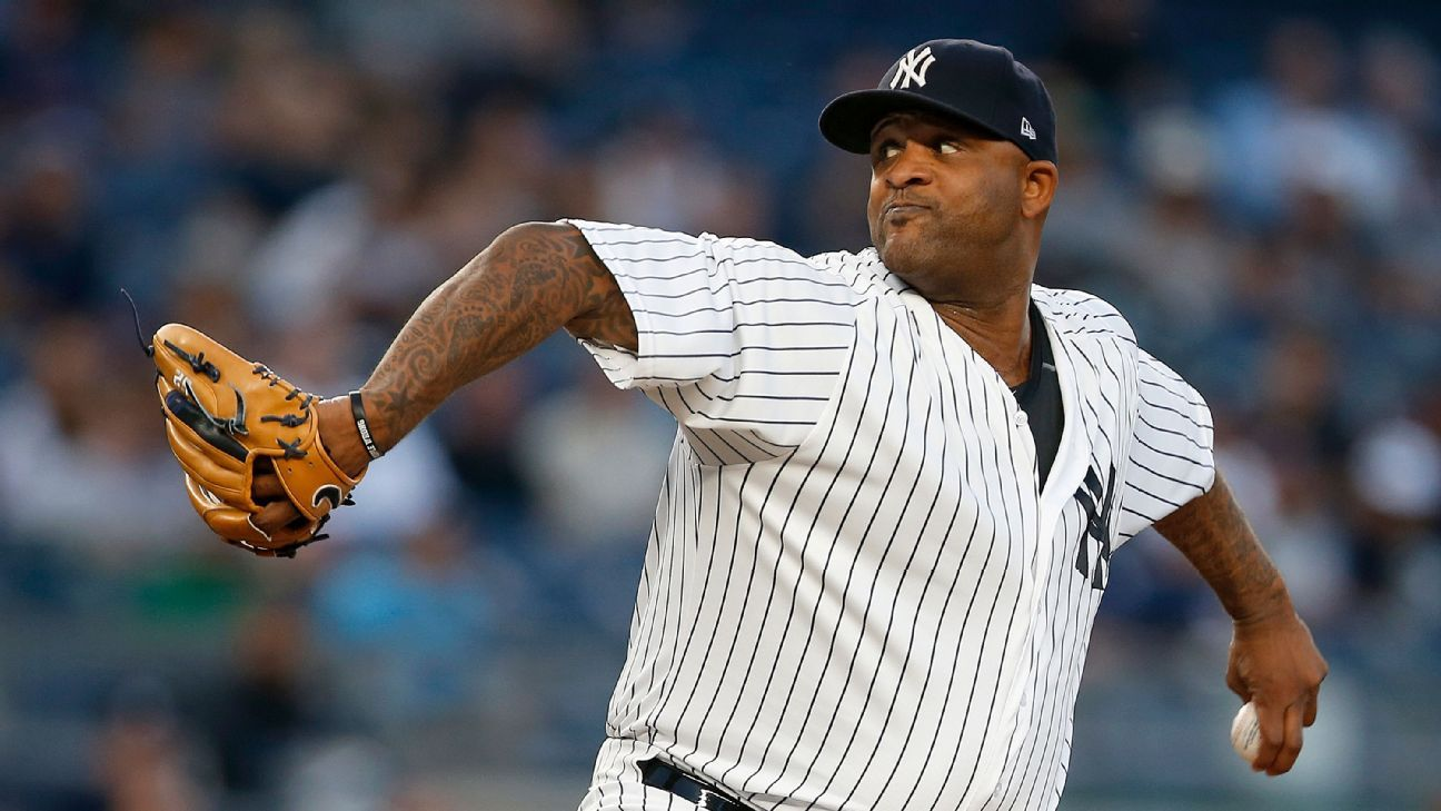 CC Sabathia re-signing with New York Yankees on one-year contract