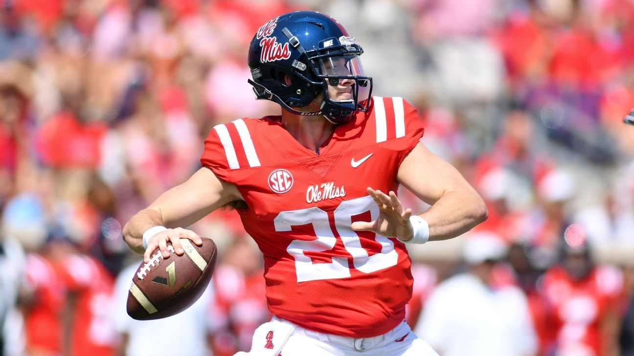 Ole Miss Rebels QB Shea Patterson out for season with torn knee ligament