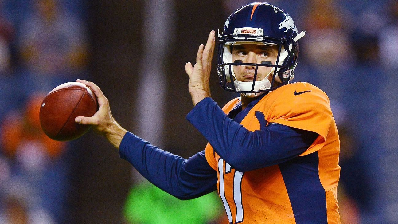 Brock Osweiler is on to a fourth NFL team in seven seasons, as the quarterback has signed with the Dolphins.