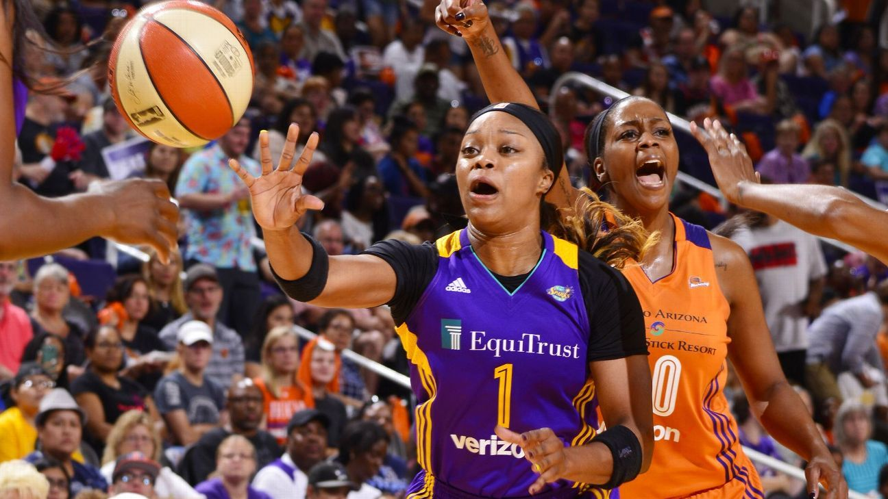Sims steps up her game in first season with Sparks
