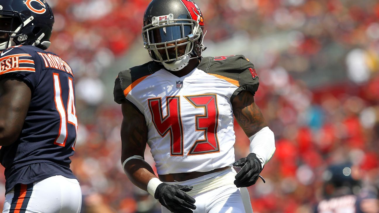 Drug charges against safety T.J. Ward, who was arrested in October 2017 for marijuana possession, have been dropped, according to Hillsborough County, Florida, court records.