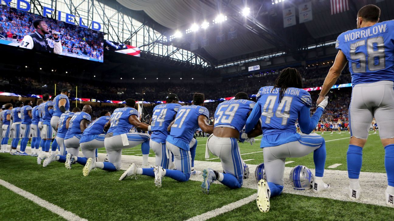 37eec6bc40bd3 President Donald Trump said Wednesday that the NFL is in a