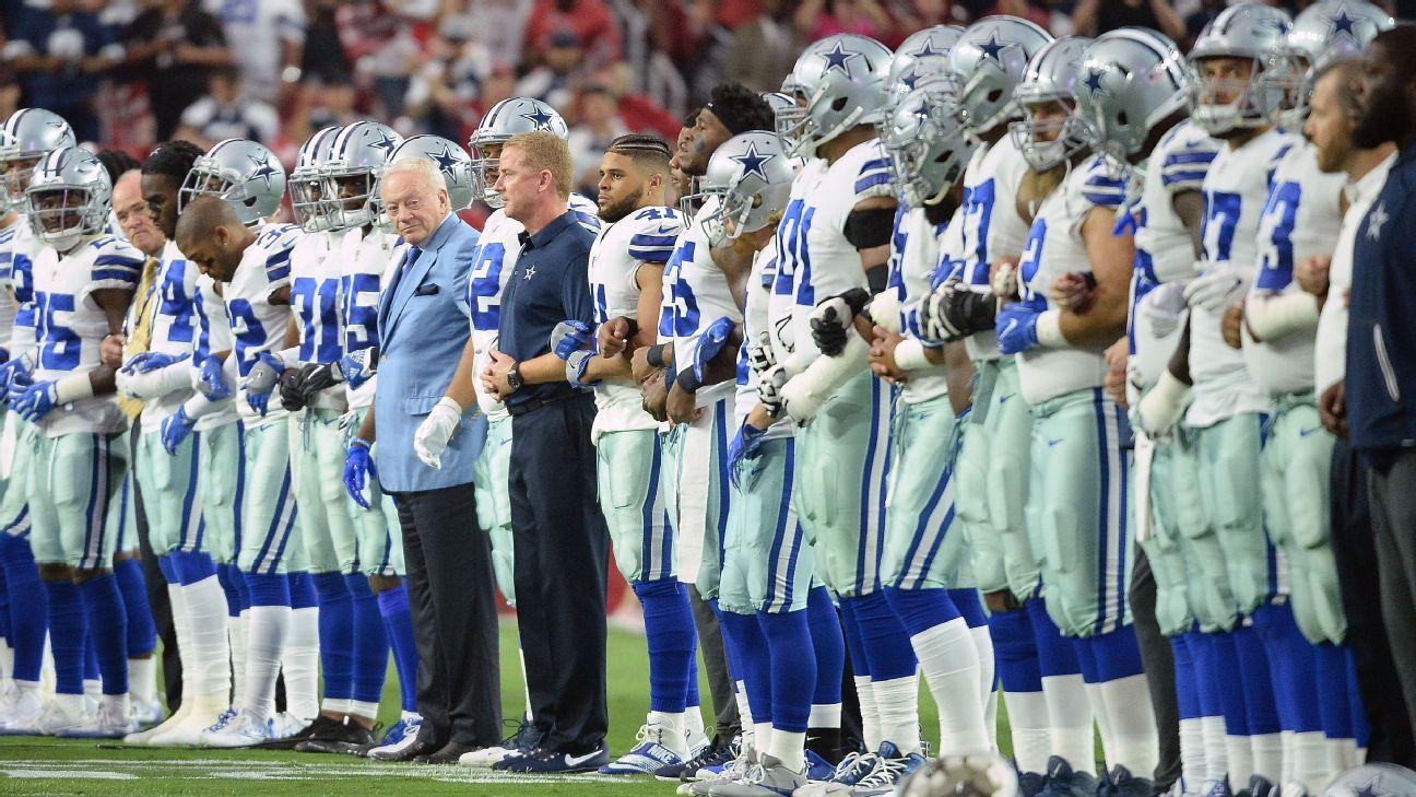 Jerry Jones atiza debate sobre protestas en la NFL