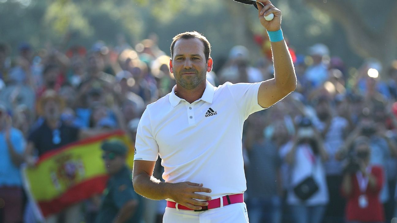 Sergio Garcia completes victory at home tournament in Spain