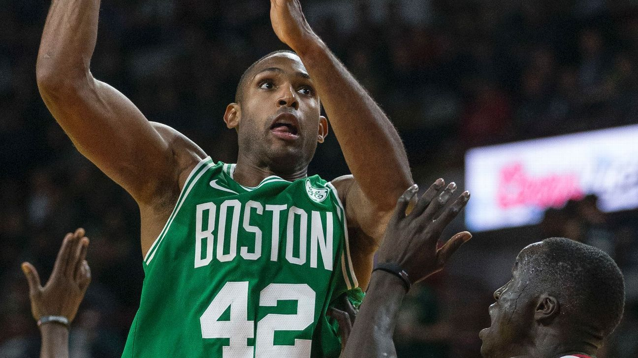 Horford keys Celtics' defense in Milwaukee