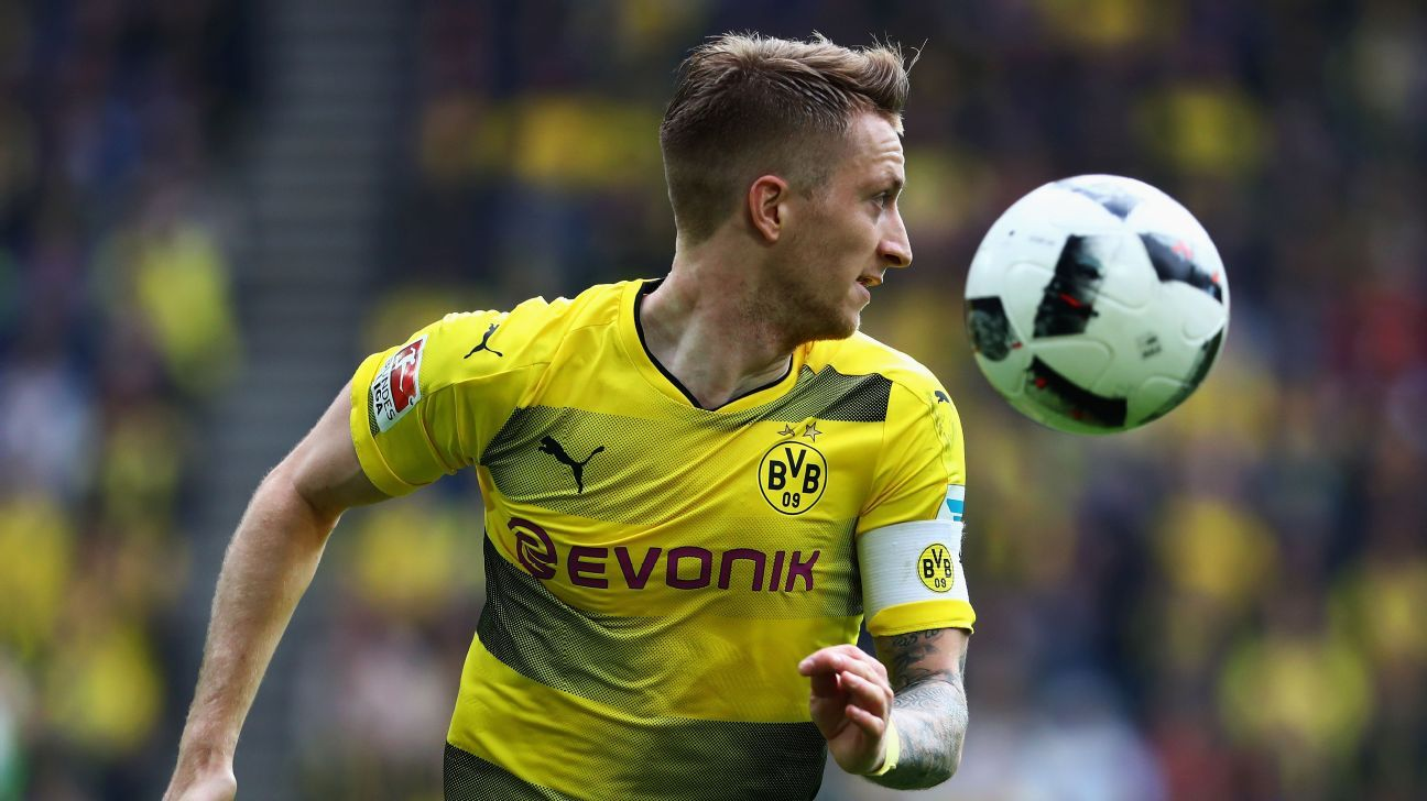 borussia dortmund 39 s marco reus back in training with the ball. Black Bedroom Furniture Sets. Home Design Ideas
