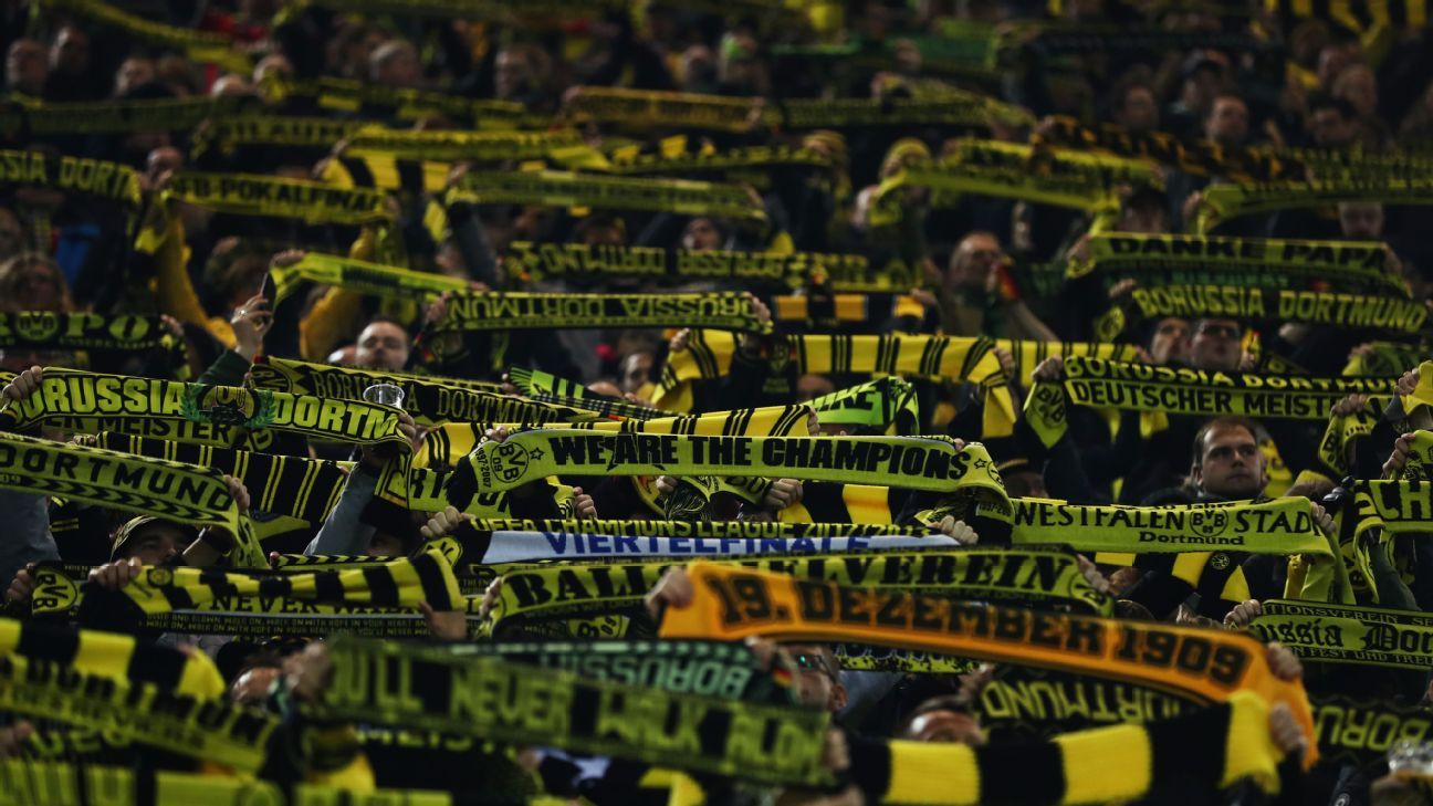 borussia dortmund fans to boycott monday match vs augsburg. Black Bedroom Furniture Sets. Home Design Ideas