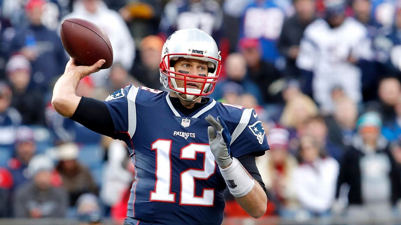 New England Patriots coach Bill Belichick didn't think twice about keeping Tom Brady in game against ...