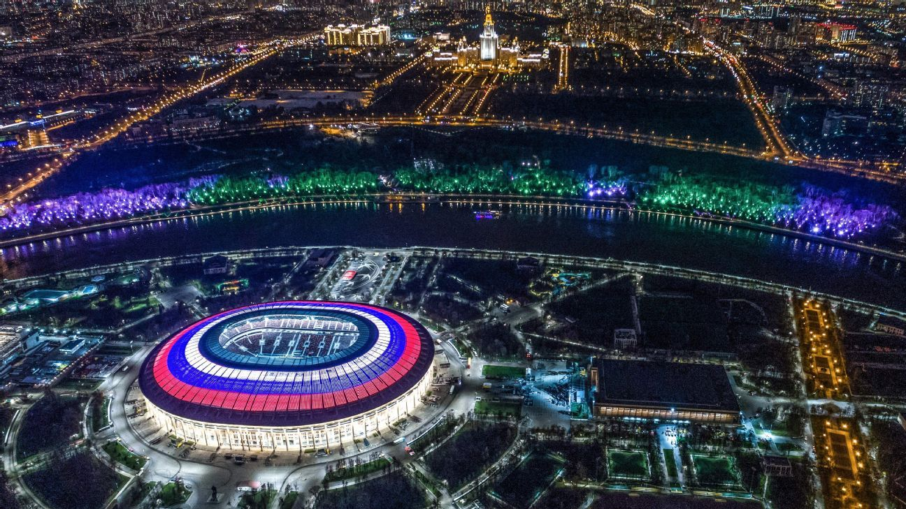 Russia 2018 World Cup stadium venues: 12 grounds across 11 cities