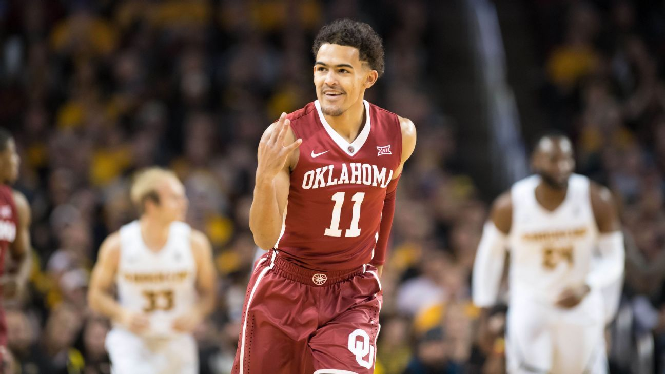 How Oklahoma Sooners Trae Young has taken over college ...