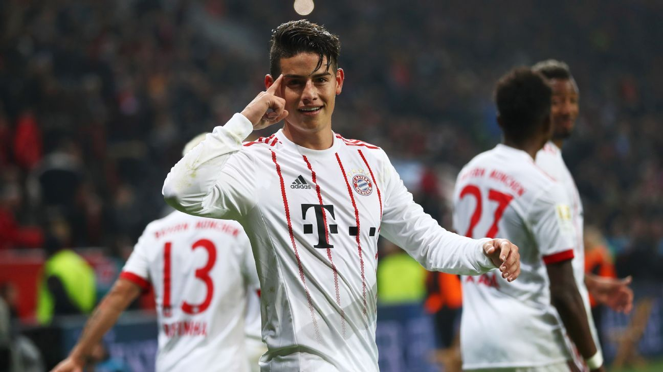 James A 9 10 As Provider And Scorer For Victorious Bayern Munich