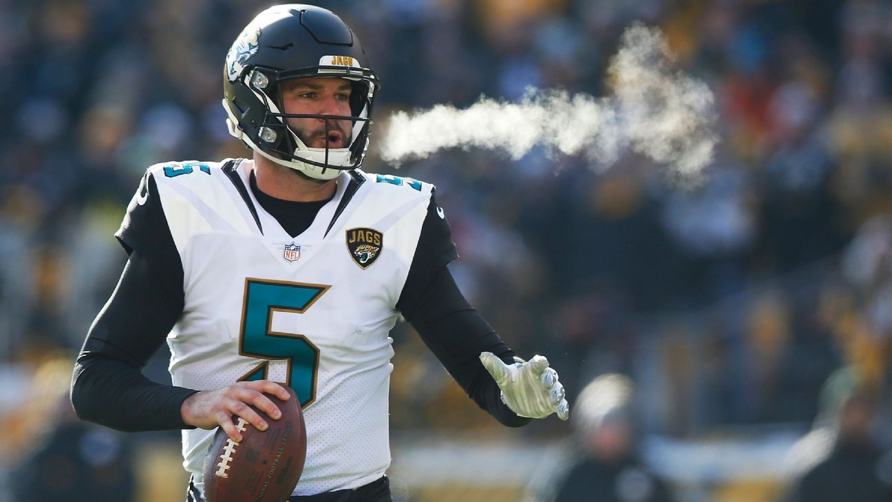 The maligned QB nearly led the Jaguars to the Super Bowl despite an aching wrist. After surgery, he seems on the cusp of another step forward.