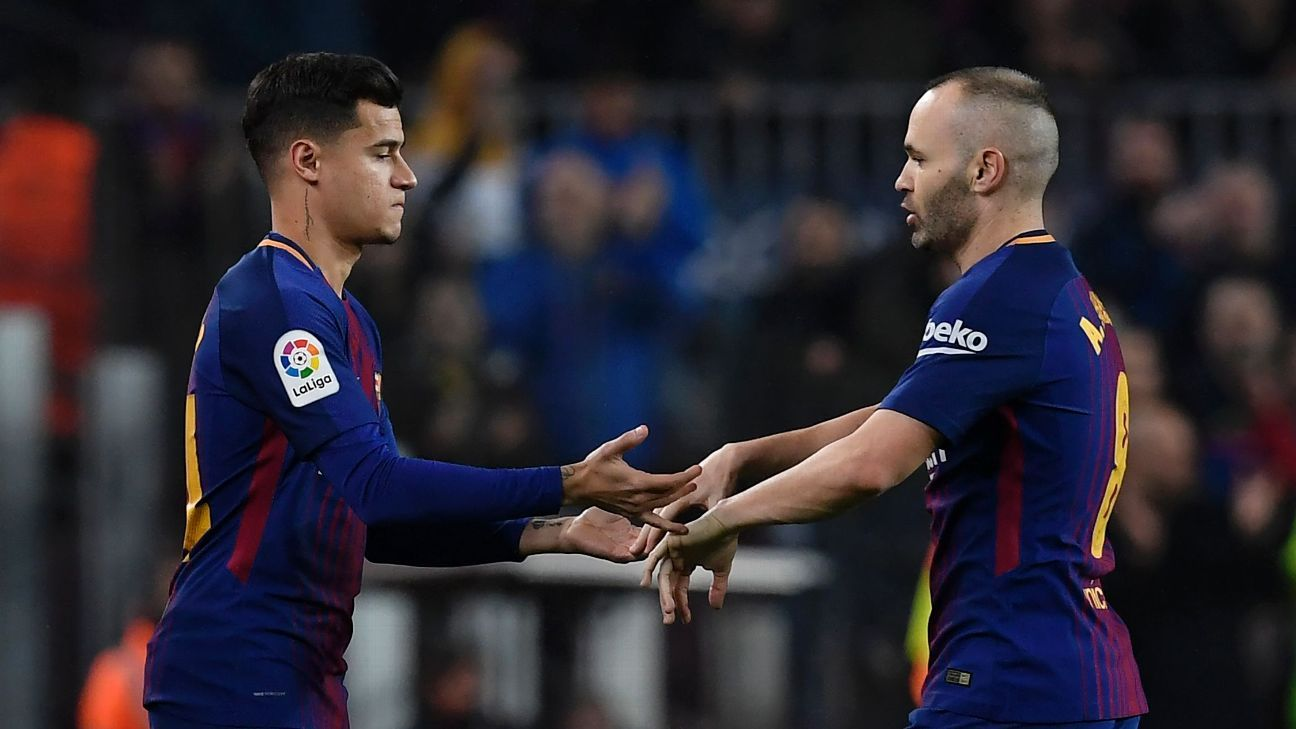 Image result for iniesta coutinho