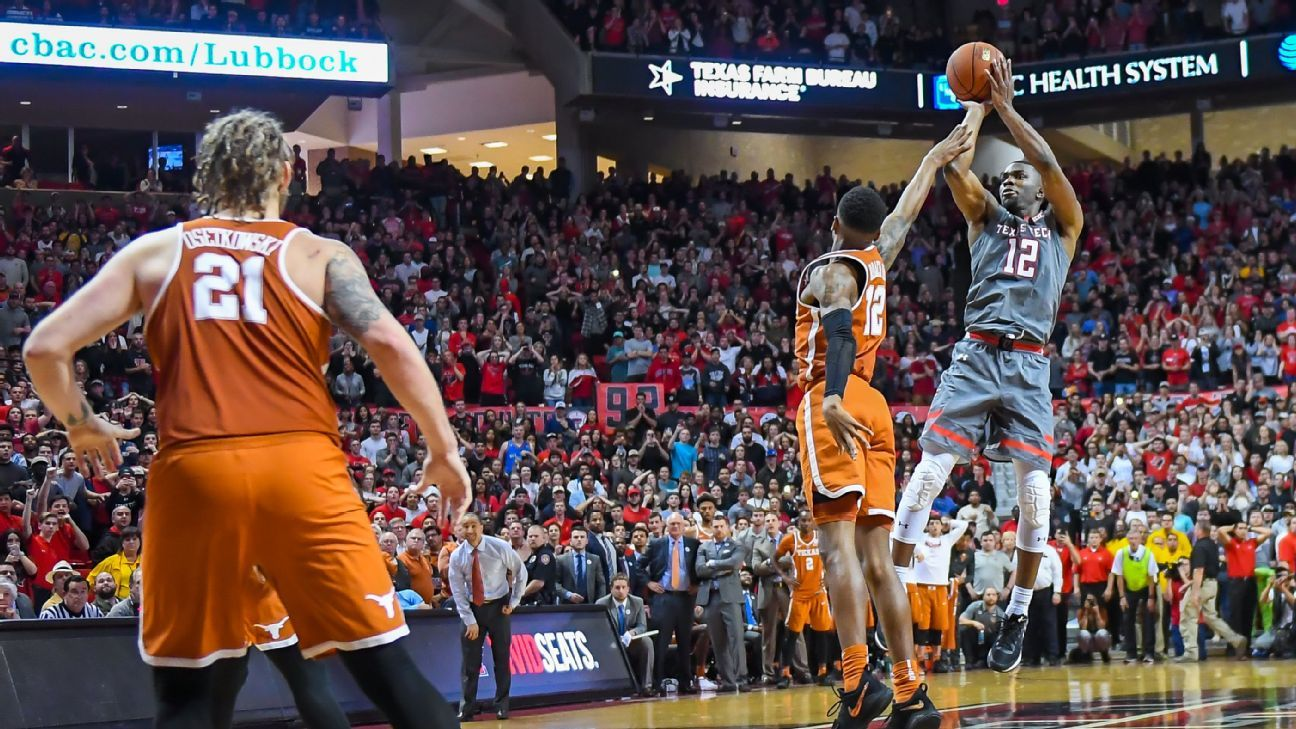 Wooden Watch - Texas Tech Red Raiders' Keenan Evans merits attention