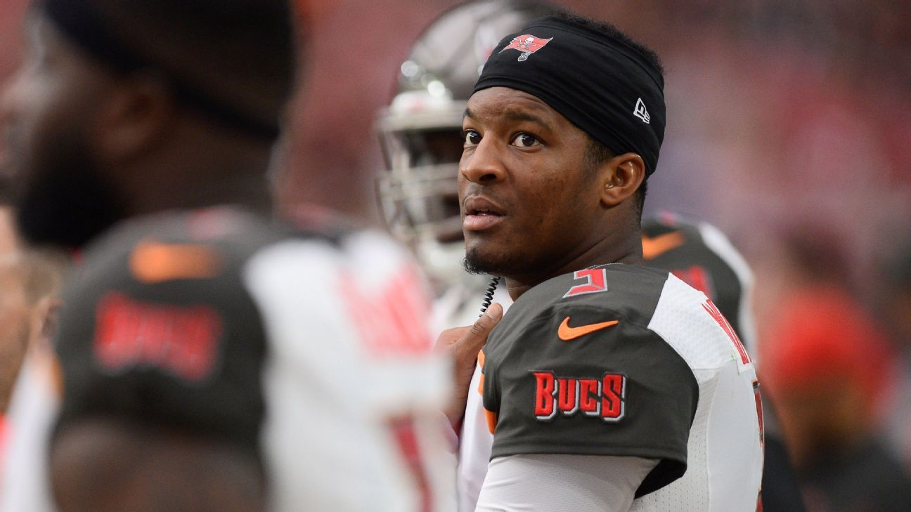 Buccaneers quarterback Jameis Winston was cited for careless driving last week after he was involved in a minor collision in Tampa.