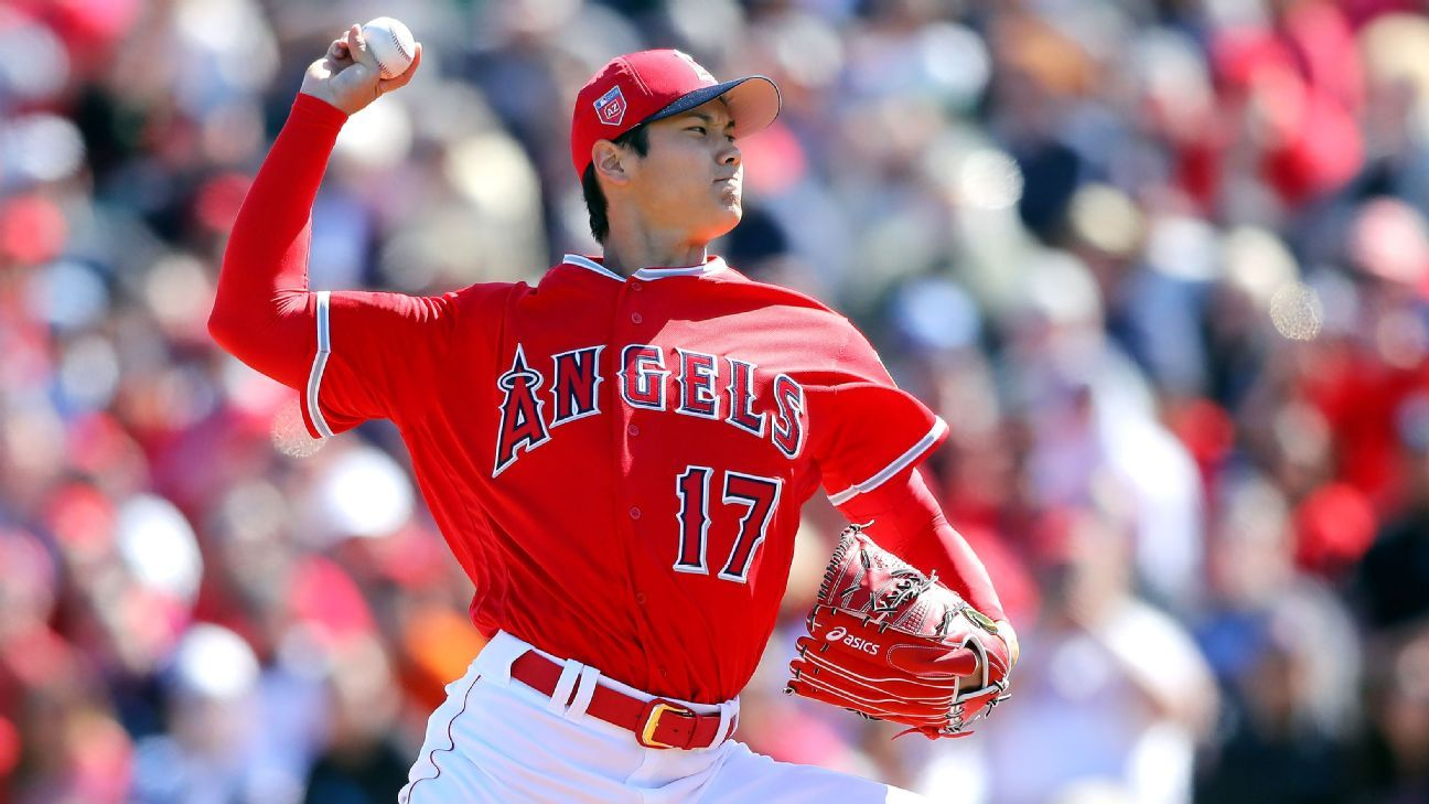 Los Angeles Angels' Shohei Ohtani struggles with fastball ...