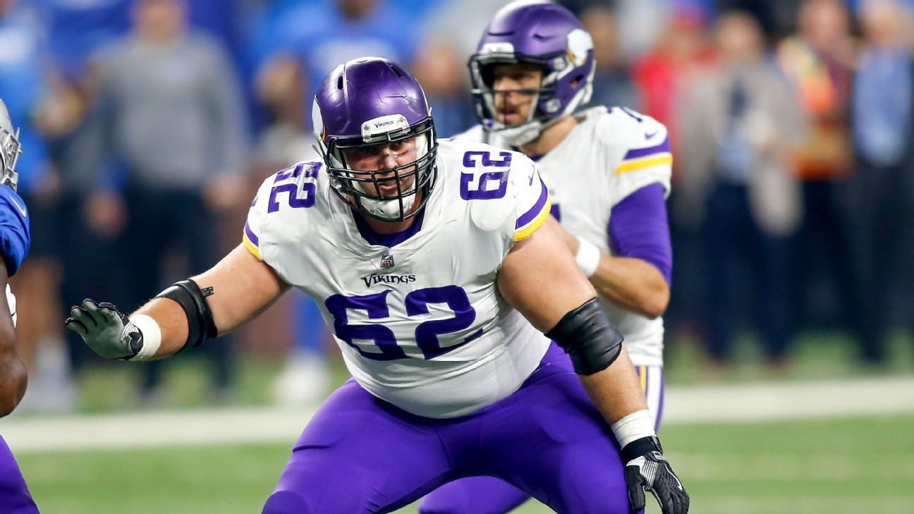 Vikings guard Nick Easton underwent surgery to correct a herniated disk in his neck Thursday and his season is likely over, agent Joe Linta said.