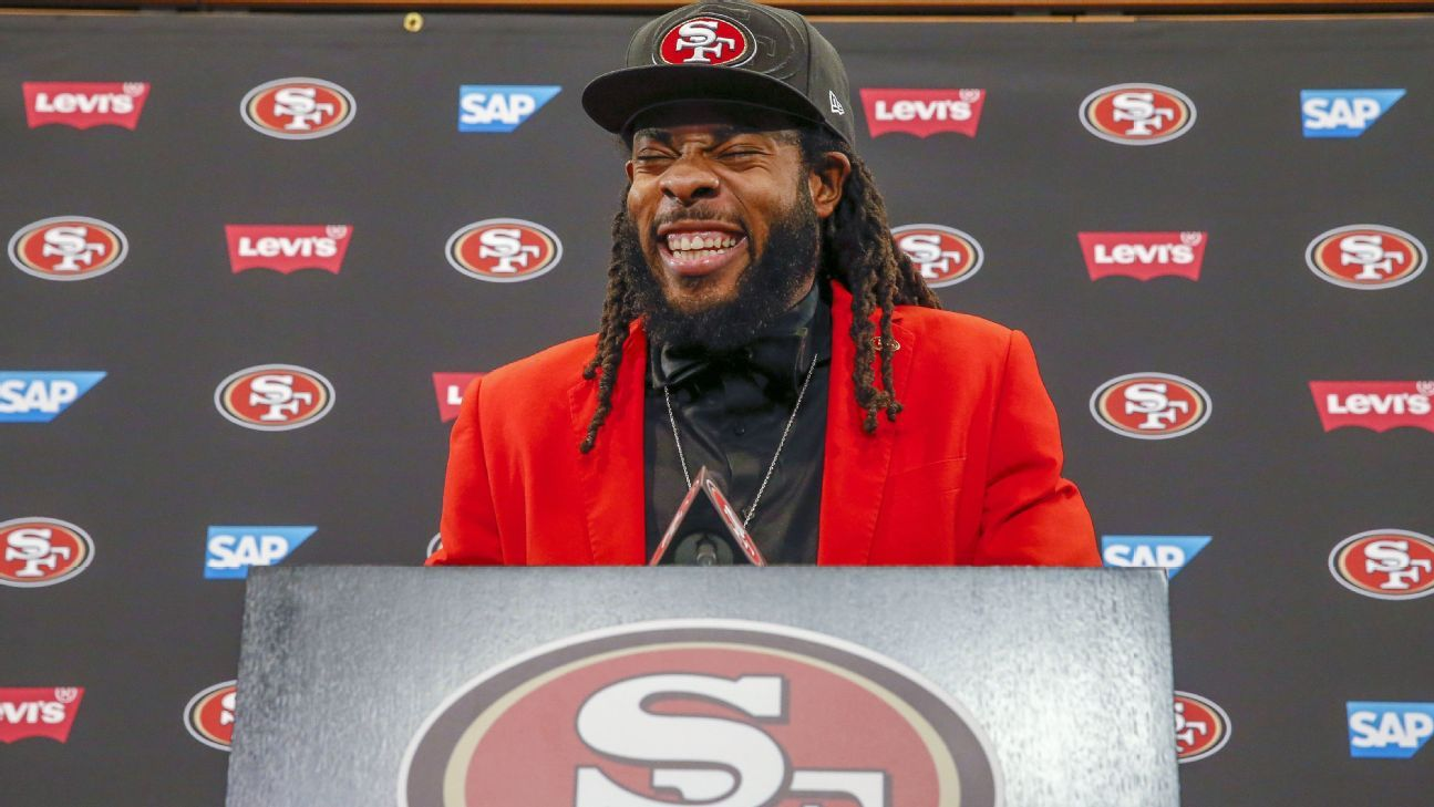 Richard Sherman met with the Bay Area media for the first time on Tuesday. He made it clear how he feels about the negative assessments of his deal with the San Francisco 49ers and why he valued the chance to negotiate it.