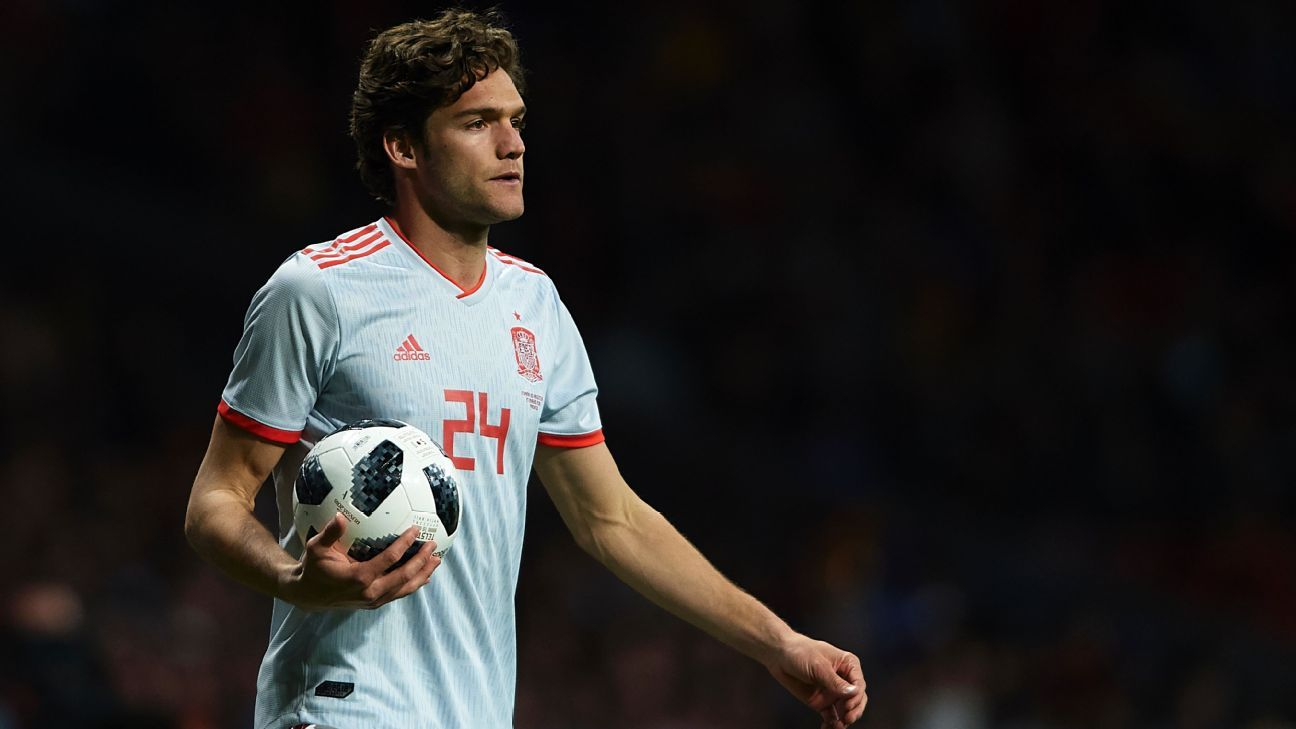 Spain debutant Marcos Alonso says he is fully committed to Chelsea