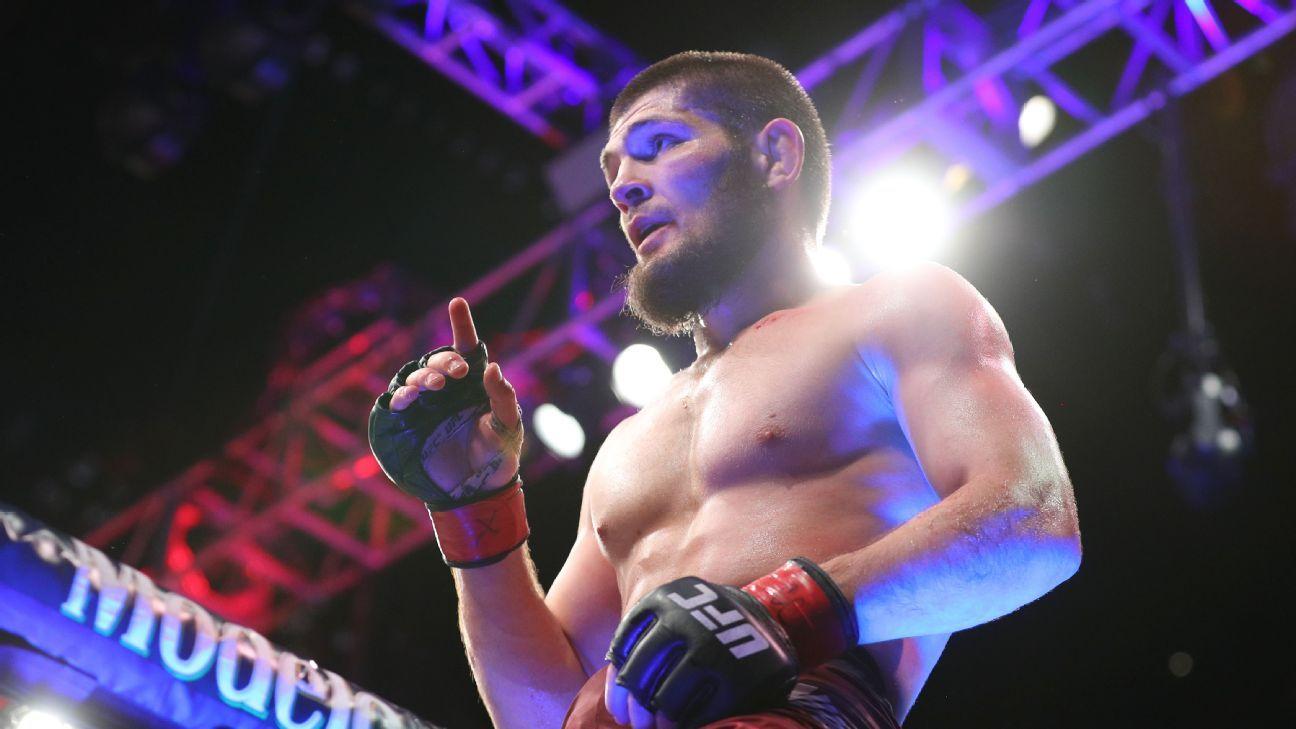 ESPN men\'s pound-for-pound MMA rankings