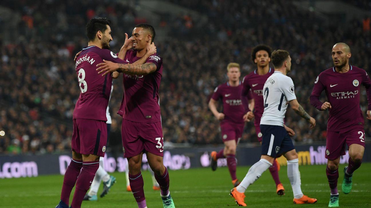 Tottenham Hotspur Vs Manchester City Football Match Summary April   Espn