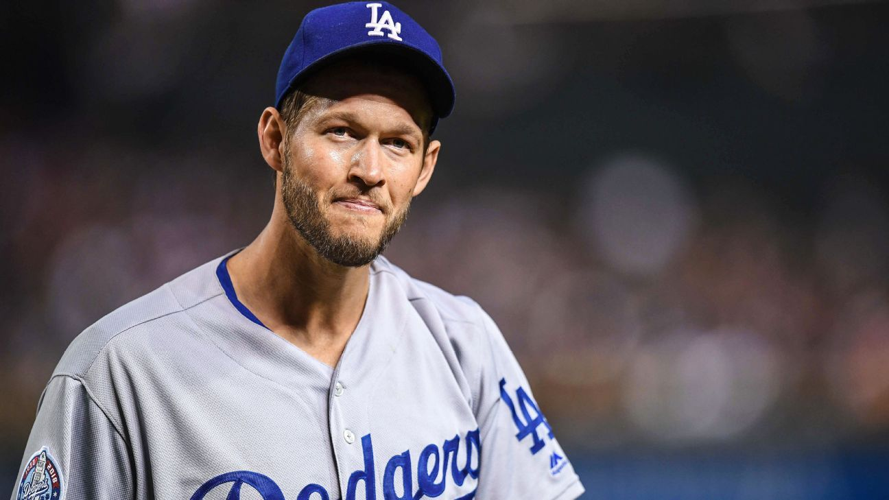 Clayton Kershaw of Los Angeles Dodgers set to return to rotation on Thursday
