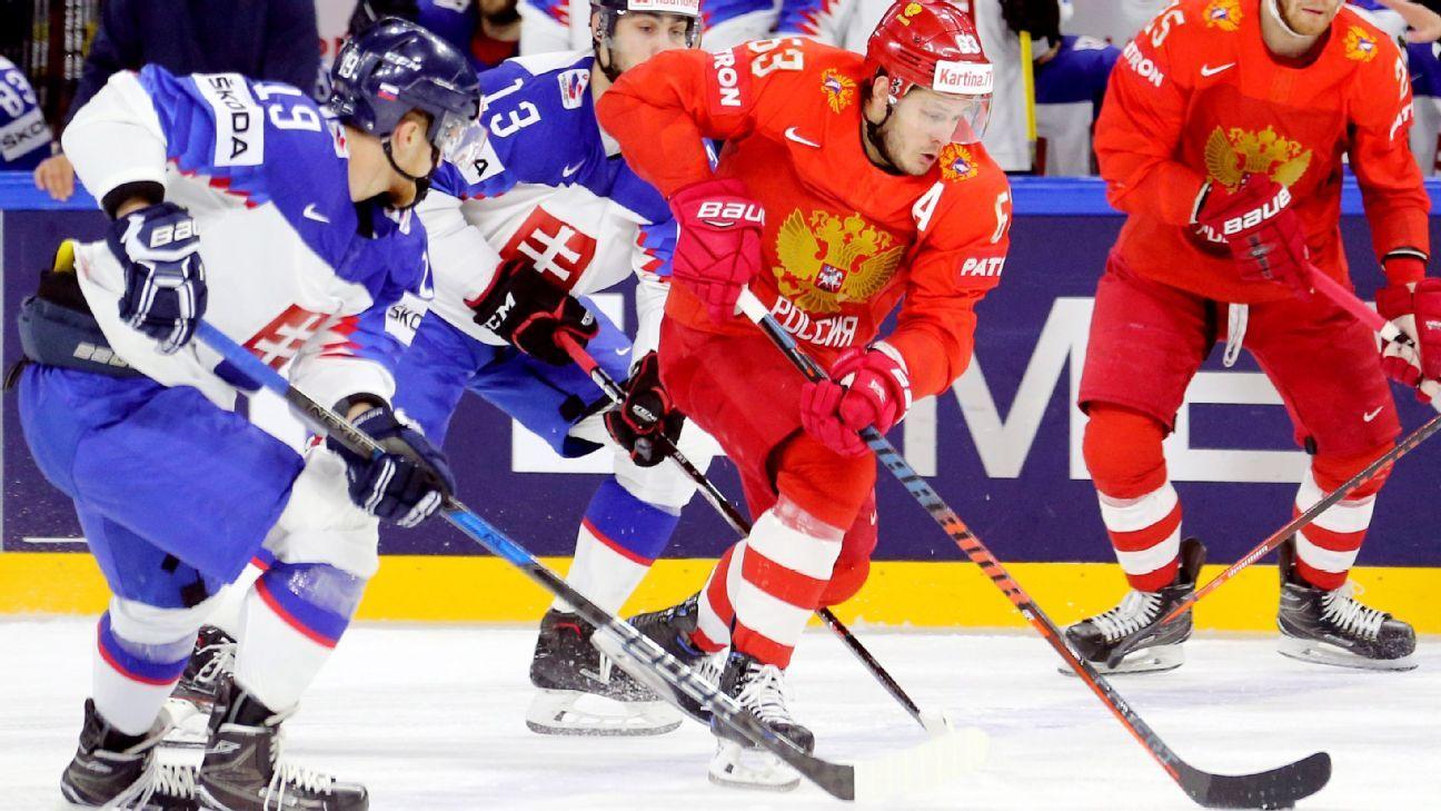 Canada gets to hockey worlds quarterfinals