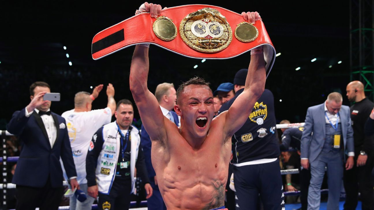 Top Rank gets Warrington-Frampton U.S. rights