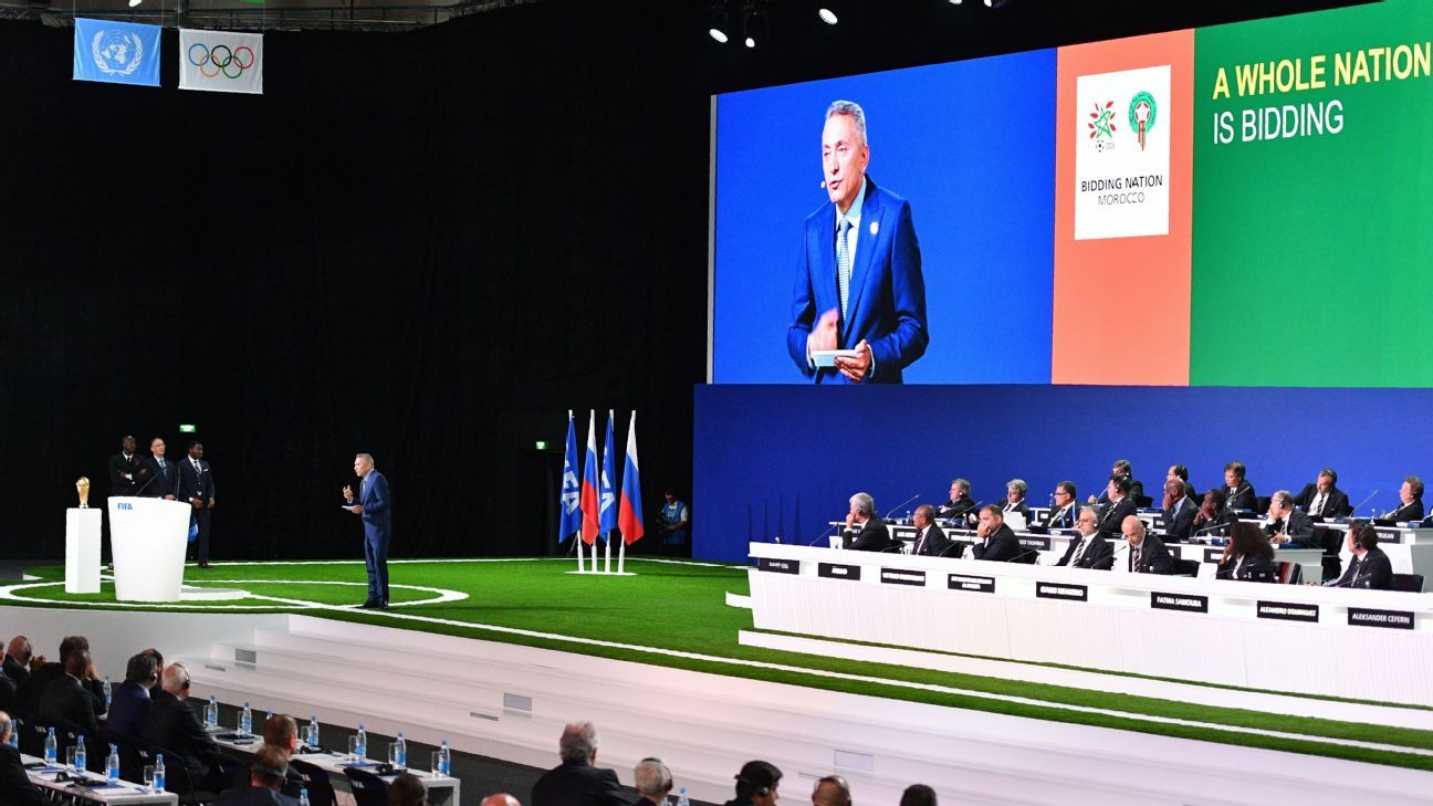 Another chapter in Morocco's history of World Cup bidding failure