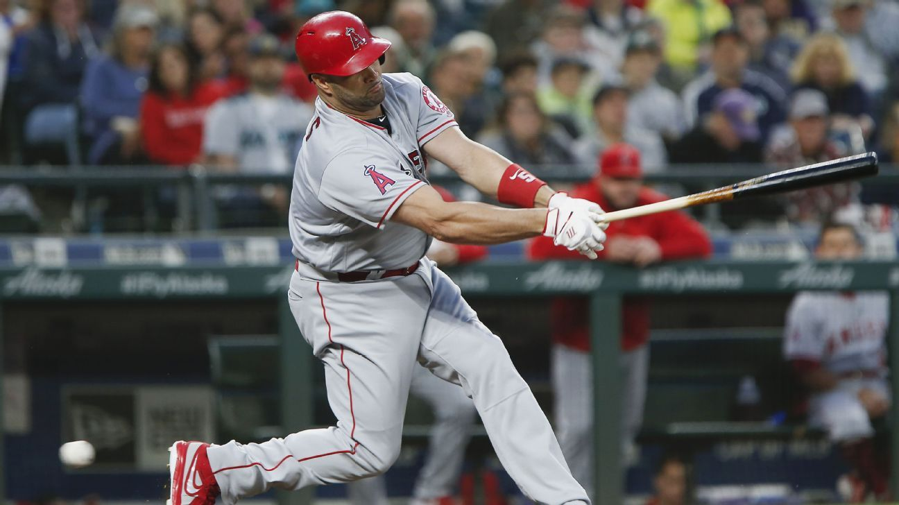 Angels slugger Albert Pujols has landed on the disabled list because of inflammation in his left knee.
