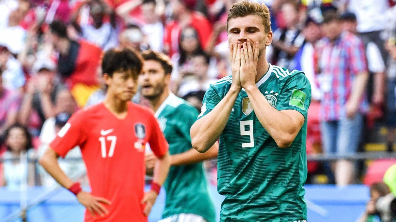 Germany fall to South Korea, exit World Cup as Joachim Low's selections fall flat