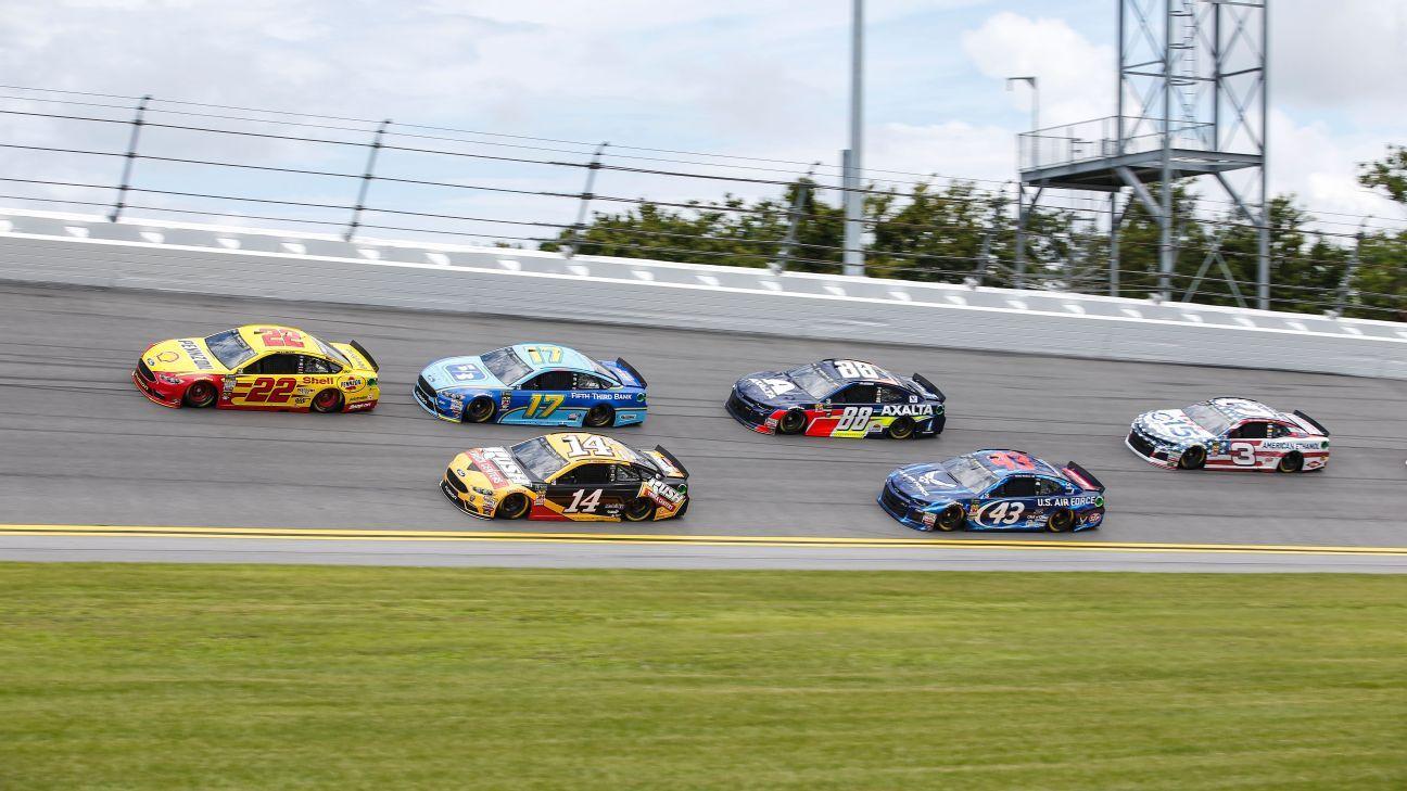 NASCAR Cup Series at Daytona starting lineup breakdown