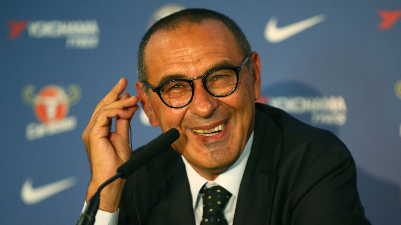 Sarri presents himself as the anti-Conte
