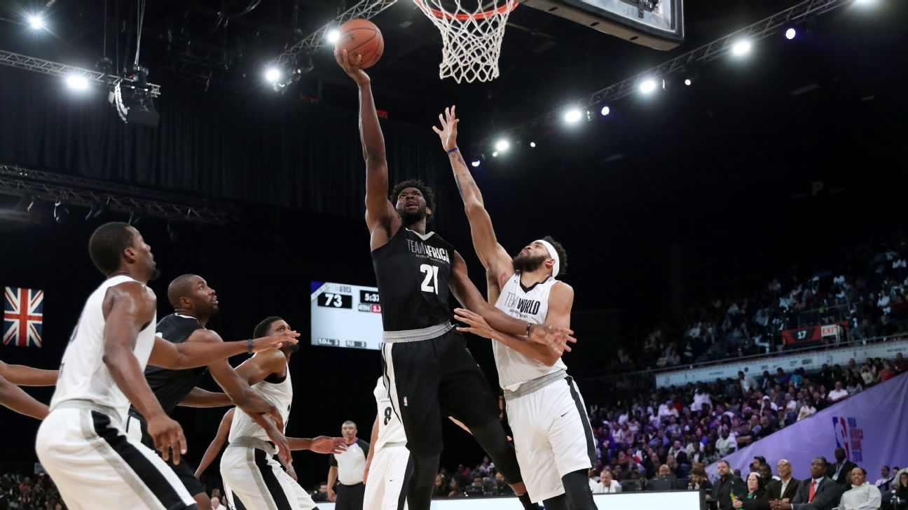 In pictures: Team World wins third NBA Africa game