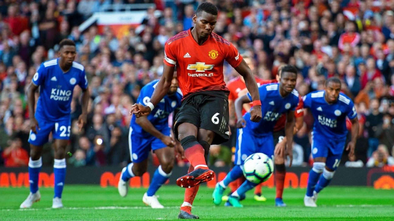 Hasil gambar untuk Manchester United 2-1 Leicester City