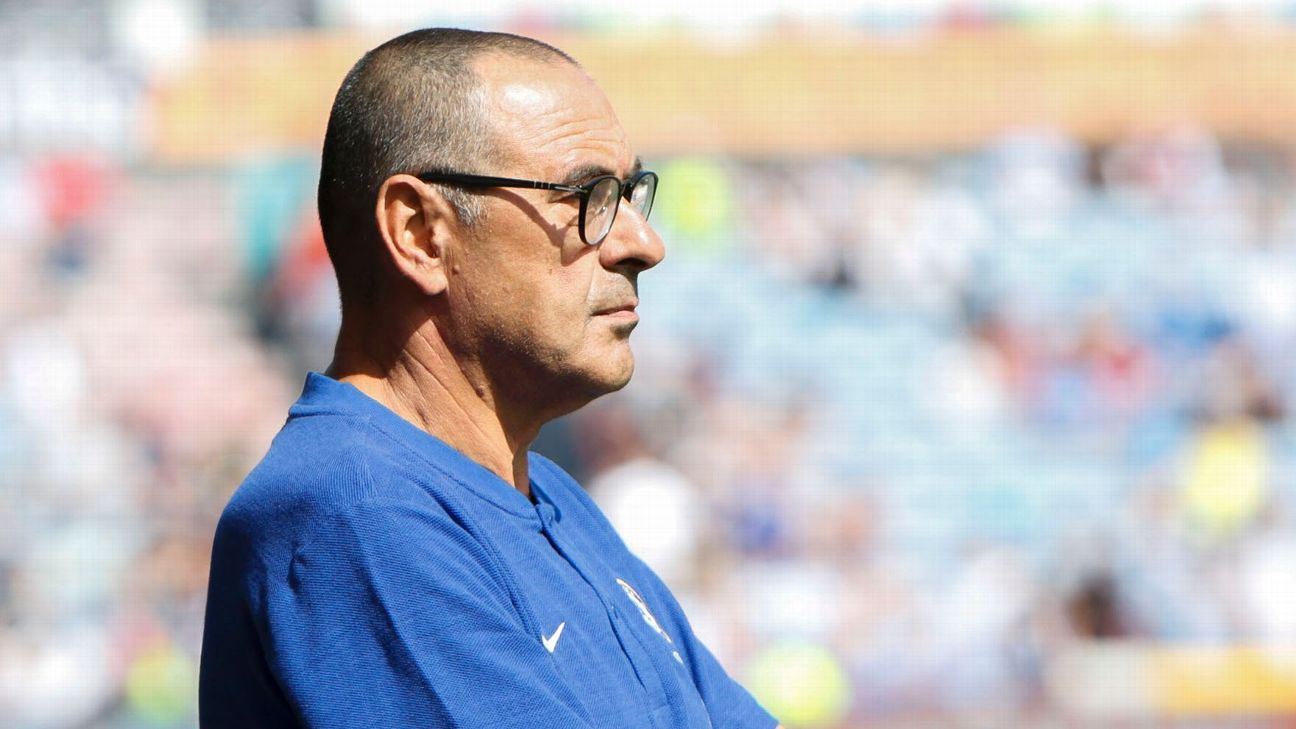 Chelsea 'have to improve' to succeed - Sarri