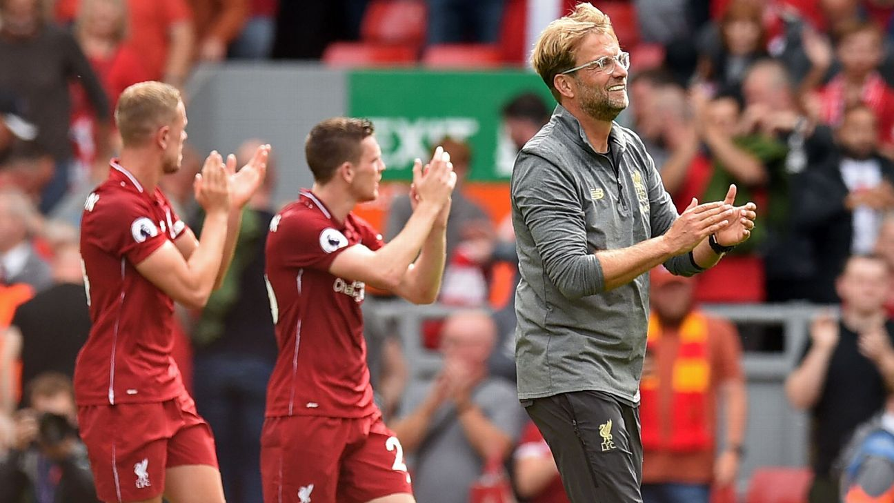 Liverpool's Klopp: I want to beat the best