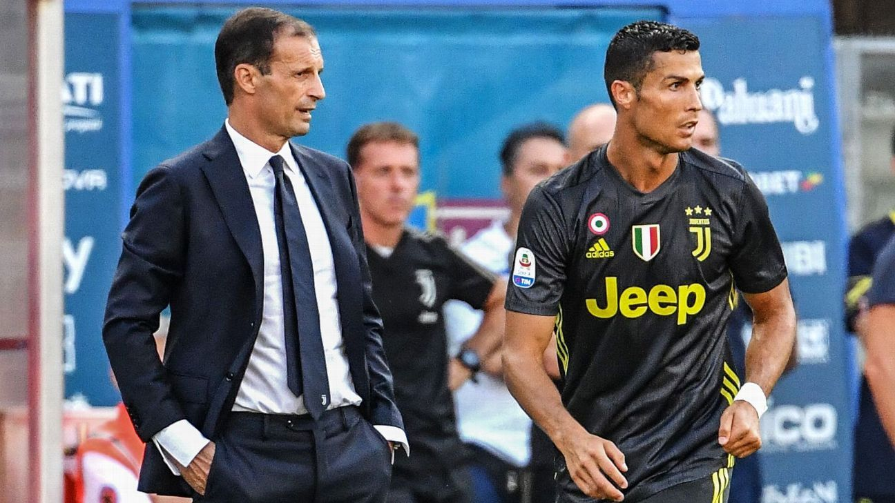 Image result for allegri ronaldo