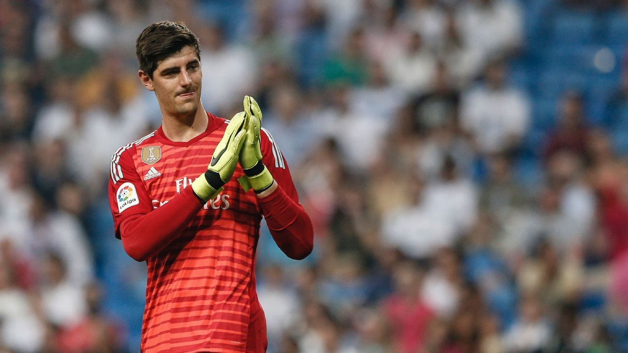 Image result for courtois real madrid